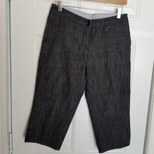 Vintage Abacus dark grey Bermuda shorts